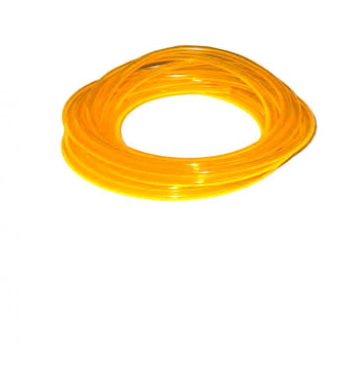 Palivová hadička polyuretanová žlutá-délka 5m