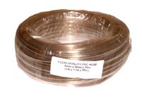 Palivová hadička polyuretanová,čirá délka 5m,9mmx4,6mm