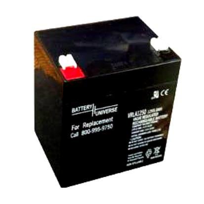 Baterie 12V,5,4Ah,+ vlevo,bez náplně (CASTEL GARDEN,FLYMO,SABO)