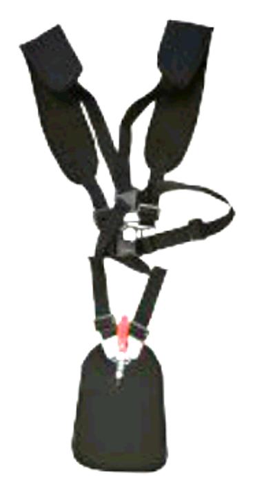 Nosný popruh pro křovinořezy dvojramenný