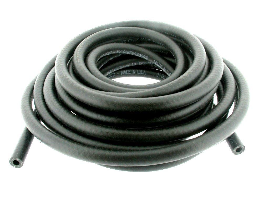 Palivová hadička gumová,pletená délka:7,6m,průměr:12,7mm