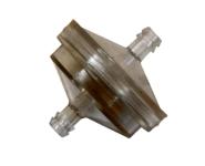 Palivový filtr 75micronů,délka:45mm,průměr:44mm