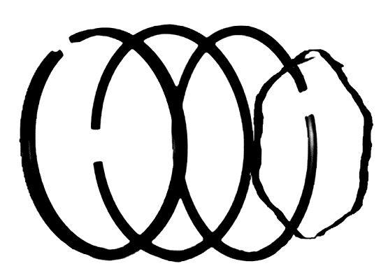 Pístní kroužky - sada (BRIGGS & STRATTON 10Hp - 12Hp)