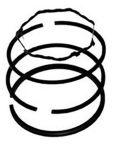 Pístní kroužky  - sada (BRIGGS & STRATTON  6Hp,TECUMSEH)