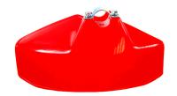 Plastový kryt pro křovinořezy s redukčními kroužky