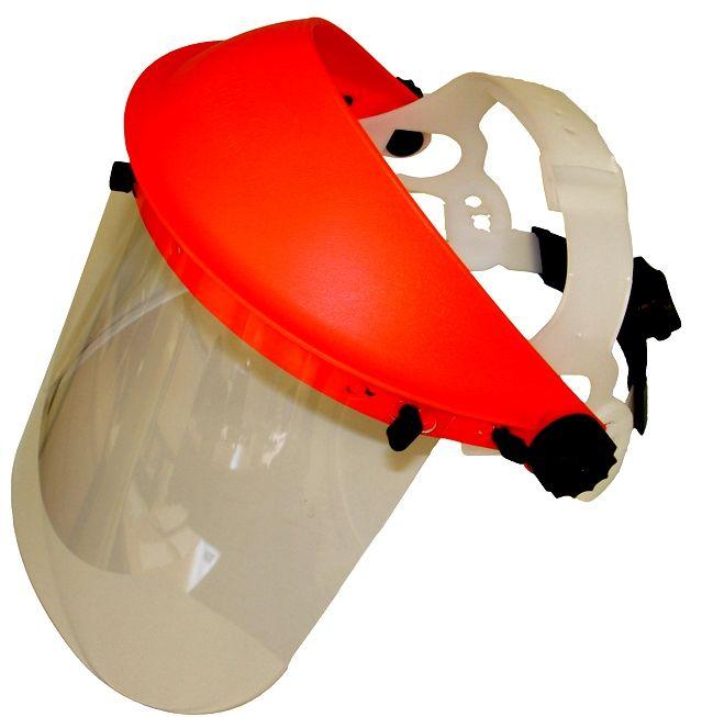 Obličejový ochranný štít s plexisklem -norma CE EN 166