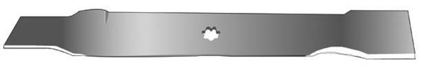 Žací nůž ,délka 535mm( JOHN DEERE X100,125,145 )