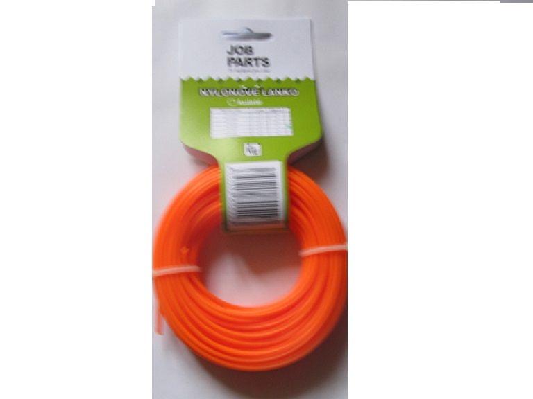 Žací struna,čtvercový průřez ,Ø 2,4mm,délka 15m
