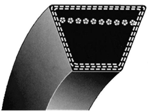Klínový řemen (pro MTD B155,H165,serie 600,750-759)