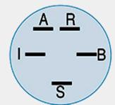Spínací skříňka pětipólová,3pozice