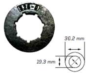 Náhradní prstenec (.325 - 8 - STANDART)