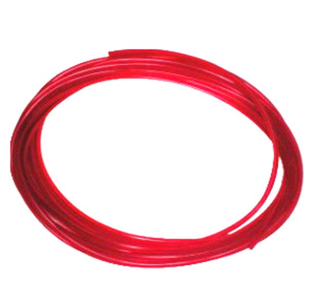 Palivová hadička polyuretanová červená - délka:5m